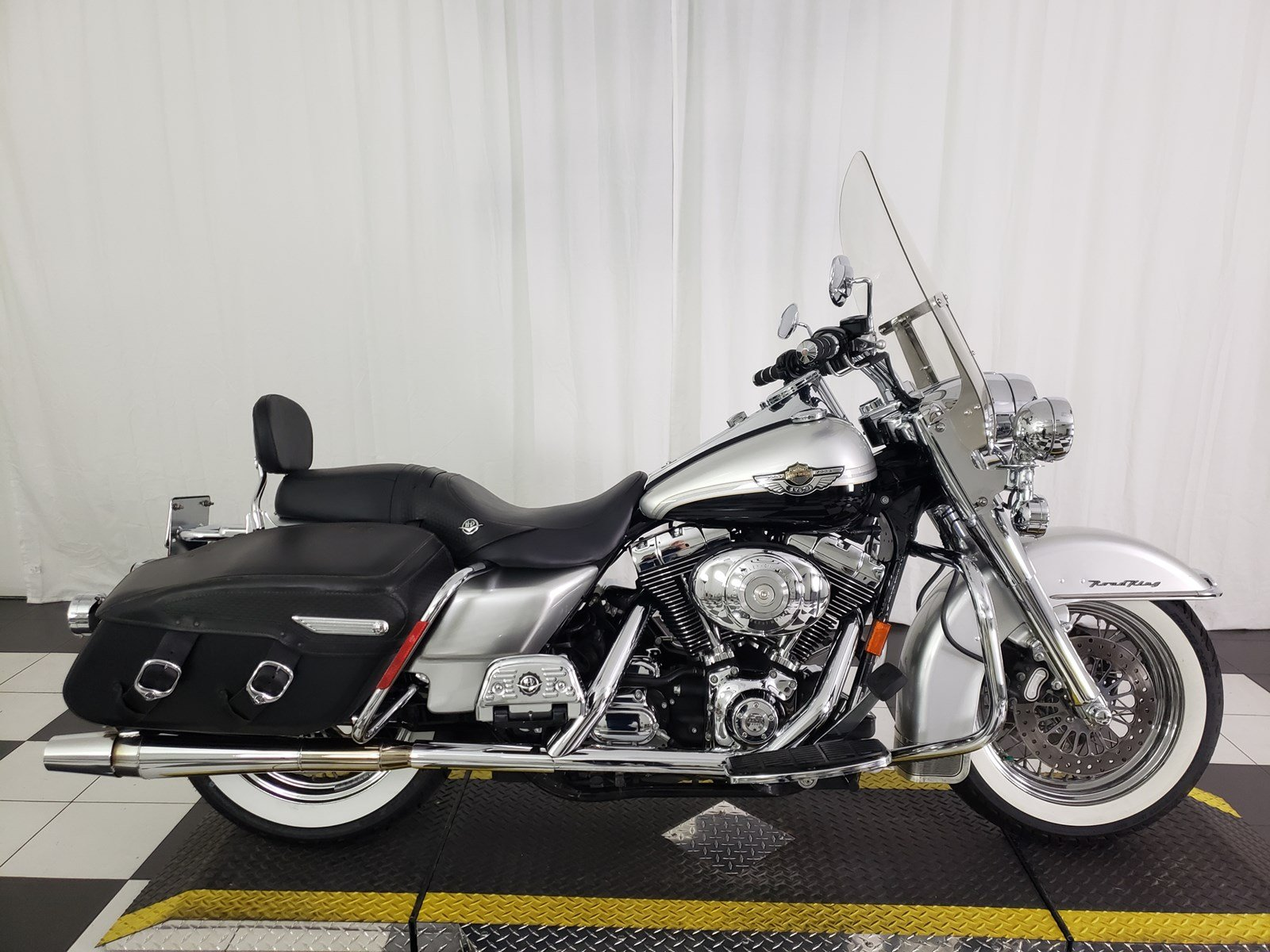 Pre-Owned 2003 Harley-Davidson Road King Classic 100th Anniversary FLHRC