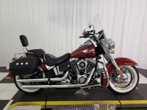 Pre-Owned 2010 Harley-Davidson Softail Deluxe FLSTN