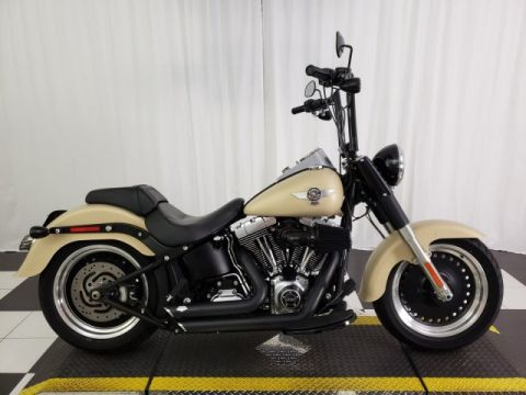 Pre-Owned 2014 Harley-Davidson Softail Fat Boy Lo FLSTFB