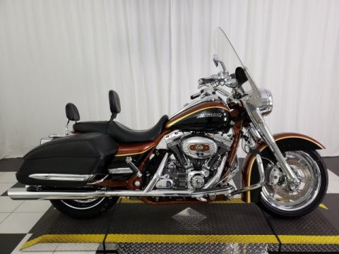 Pre-Owned 2008 Harley-Davidson Road King CVO 105th Anniversary FLHRSE